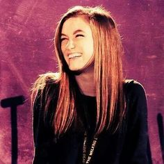 Cute laughing face!! Madison Lintz, Bullet To The Head, Laughing Face, The Cure, Dreadlocks, Hair Styles, Cute, Crafts, Diy