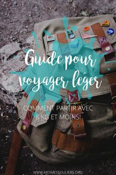 Guide pour faire vos bagages et voyager léger livres) The backpackers who saw the size of the backpack with which I travel the world were impressed! Here is a guide to pack your bags and tra New Travel, Travel Goals, Travel Packing, Travel Backpack, Travel Guide, Travel Pictures, Travel Photos, Destinations, Camping Outfits