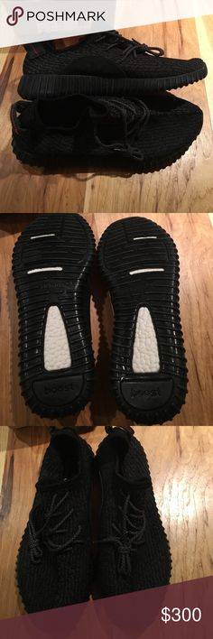 Yeezy boost 350 Pirate black Never worn black pirate boost 350 Adidas Shoes Sneakers