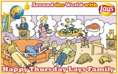Happy a relaxing Thursday Lays South Africa Remember to enjoy lots of #Lays moments