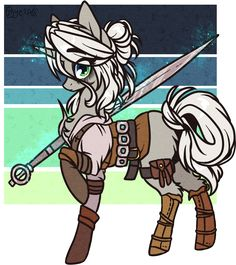 character (c) witcher ponyfication (c) me