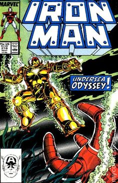Genius billionaire inventor, industrialist, and CEO of Stark Industries Tony Stark builds an armored suit and becomes the armor-clad superhero named Iron Man. Marvel Comic Books, Comic Book Characters, Marvel Characters, Comic Character, Comic Books Art, Comic Art, Book Art, Tony Stark, Superhero Names
