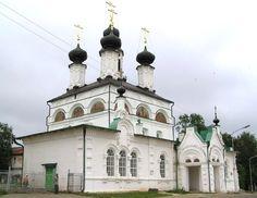 Церковь Прокопия Устюжского Великий Устюг 1668 г