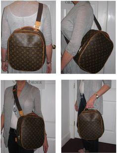 Louis Vuitton monogram canvas  Sac A Dos  packall. This is a discontinued  bag f7788914e07