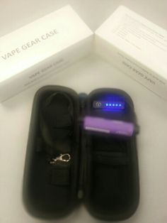 Innokin vape case, built in battery charge indicator