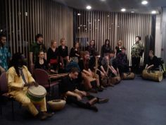 Lanyi, the School's new West African ensemble