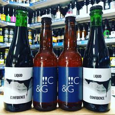 Liquid Confidence - 12.2% Ancho Guajillo & Chipotle Chilli Imperial Stout & !!PA Citra Galaxy - 9% DIPA from @toolbeer available now