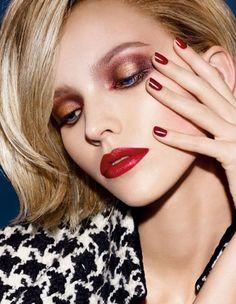 Christian Dior Cosmetics F/W 2014 Campaign
