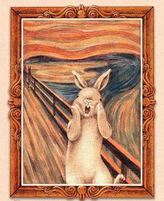 當兔子遇上名畫 - 台灣插畫家Shae的療癒手繪之作 - The Femin