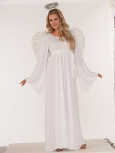 Check out Plus Size Angel Women's Costume | Religious Costumes & Accessories from Wholesale Halloween Costumes