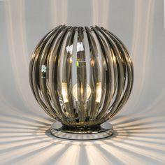 Tischleuchte Disco rauchig #Angebote #Sale #Ausverkauf #Außenbeleuchtung #Innenbeleuchtung #lampen #Leuchte #Light #wohnen #einrichten #Outlet