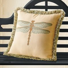 Dragonfly Indoor-Outdoor Pillows