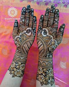 Bridal Henna Mehndi Mehandi Designs 44 Ideas For 2019 New Bridal Mehndi Designs, Full Hand Mehndi Designs, Legs Mehndi Design, Indian Mehndi Designs, Henna Art Designs, Mehndi Design Pictures, Latest Mehndi Designs, Mehandi Designs, Mehndi Images