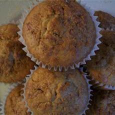 Cinnamon Bran Muffins - 2 pts
