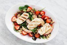 halloum-salad