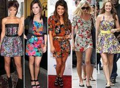 lindos vestidos de verao florais 2012