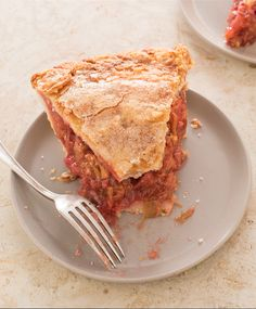 What's our secret to the perfect Strawberry-Rhubarb Pie? A combination of vodka, a microwave, and the right number of vents.