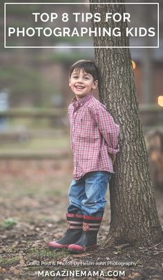 Do you have a kids photo session coming up? Then check out these top 8 tips for photographing children.