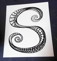 Doodle Letter