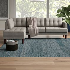 Ebern Designs Add a touch of modern flair to your home decor with this Sectional. This Sectional offers a gorgeous upholstery. Sleeper Sectional, Reclining Sectional, Chaise Sofa, Small Sectional Sofa, Couches, Sofa Bed, Living Room Furniture Sale, Living Room Sofa, Couch Furniture