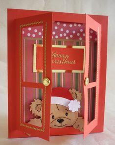 Merton House / Thomas Winwood Architecture + Kontista+Co Chrismas Cards, Christmas Card Crafts, Christmas Countdown, Xmas Cards, Handmade Christmas, Holiday Cards, Fun Fold Cards, Diy Cards, 242