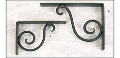 Forged Scroll Brackets - Hardware