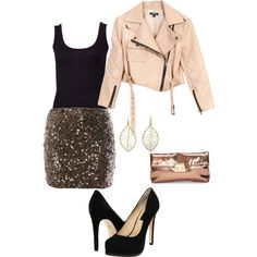 I have a jacket exactly like that... Think I'll pair it with these items for a party this fall... Now I just need a party to attend