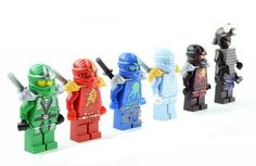 Topbill LEGO Ninjago Lloyd Ninja miniFigure 6pcs swords new