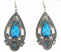 Hey, I found this really awesome Etsy listing at https://www.etsy.com/listing/195512730/silver-exquisite-blue-beaded-and