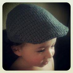 Evilly Crochet Cap