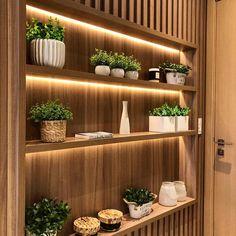 Living Room Shelves Ideas Built Ins Tvs 36 Trendy Ideas Living Room Partition Design, Room Partition Designs, Cafe Interior, Home Interior Design, Interior Sketch, Nordic Interior, Classic Interior, Interior Architecture, Living Room Shelves