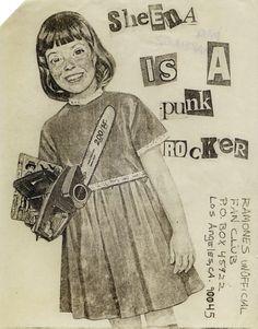 Ramones Los Angeles fan club mail-out, USA, Source: Punk: An Aesthetic (Rizzoli)The Art of Punk and the Punk Aesthetic: Observatory: Design Observer Punk Art, Arte Punk, Chicas Punk Rock, Estilo Punk Rock, Poster A3, Punk Poster, Riot Grrrl, Les Aliens, Design Observer