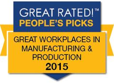 More incredible news! Not only were we just named a Great Rated workplace, we were named the #3 best small/medium Manufacturing & Production workplace in the nation!  We are so grateful.  Read the exciting full story here: http://ow.ly/HHaO4  See our incredible Great Rated page here featuring photos & lots of info about what makes FONA such a special place: http://ow.ly/HHaVQ