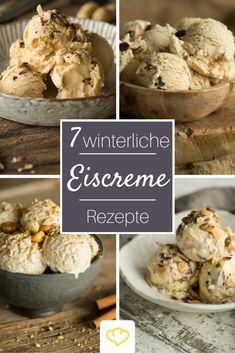 7 herrliche Eisrezepte für den Winter. Da ist garantiert auch deine neue Lieblingssorte dabei!