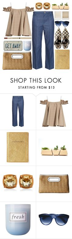 """""""Simple"""" by barbarela11 ❤ liked on Polyvore featuring Marc Jacobs, Anna October, Holga, MICHAEL Michael Kors, Fresh, Jacques Marie Mage and L'Oréal Paris"""