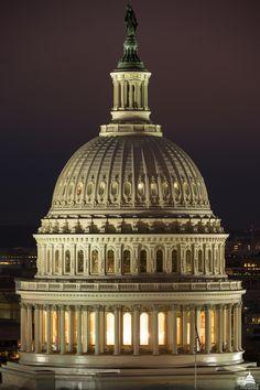 28 fotos de la restauración del Domo del Capitolio que estrenará Donald Trump