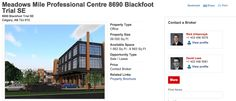 Real Estate Listing on JLL | Meadows Mile Professional Centre #MMPC #OnTheMile #YYCre