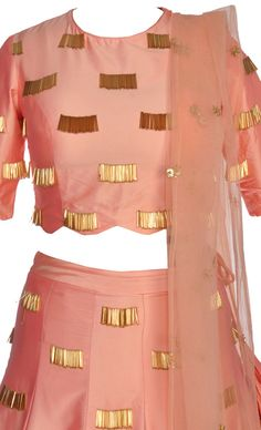 Order contact my whatsapp number 7874133176 Peach Gold Silk Lehenga Blouse Styles, Blouse Designs, Pretty Dresses, Dresses For Work, Silk Lehenga, Work Blouse, Indian Outfits, Western Outfits, Indian Designer Wear