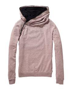 Contrast hood sweater  - Scotch & Soda