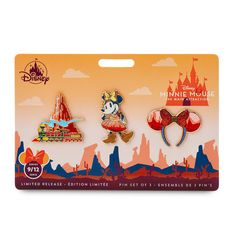 Minnie Mouse: The Main Attraction Pin Set – Big Thunder Mountain Railroad – Limited Release   shopDisney