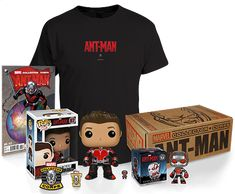 Marvel Collector Corps June 2015 Ant-Man XL T-Shirt Exclusive NEW