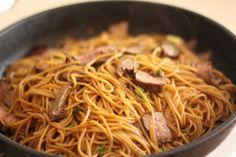 Steak and Noodle Stir Fry