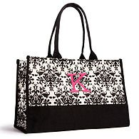 Damask Tote - For the bridesmaids