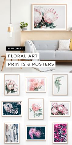 Shop floral Australian wall art posters & famed prints from the best value wall art studio in Australia. Bedroom Decor, Wall Decor, Bedroom Ideas, Botanical Wall Art, Floral Wall Art, Room Interior, Interior Design, Art Mural, Reno