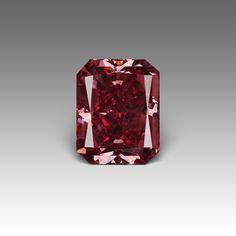 An amazing 1.32 carat natural red diamond!
