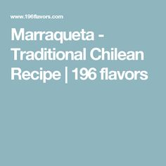 Marraqueta - Traditional Chilean Recipe | 196 flavors