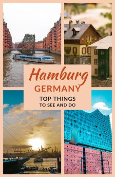 Hamburg is a kind of city that doesn't take one away from the realities of life and commerce, but shows it from close quarters with all its poetic enormity. Here are the top things to see and do in this city. #Hamburg #Portcity #Germany #TravelHamburg #TravelGermany #TravelInspiration #TravelRealizations