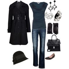 """""""Winter. Smart-casual."""" by miss-demeanour-beauty-body on Polyvore"""