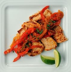 From The Washington Post: Spicy turkey scaloppine with peppers and onions...Virgin Diet-legal!