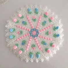 Best 12 Then new models come ♥♥. … # booties # my hand # crochet # … – – SkillOfKing. Crochet Flower Tutorial, Crochet Flowers, Crochet Pants, Booties Crochet, Hand Crochet, Bead Crafts, Diy And Crafts, Ladoo Gopal, Rainbow Crochet